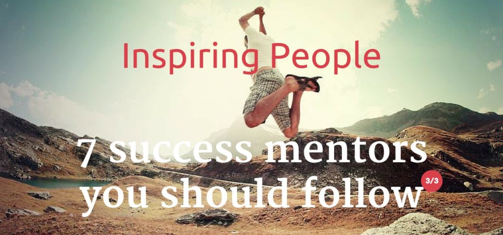 Inspiring People Success Mentors