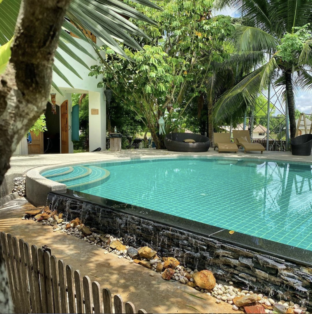 Magical Yoga Retreat in Chiang Mai Salt Water Pool