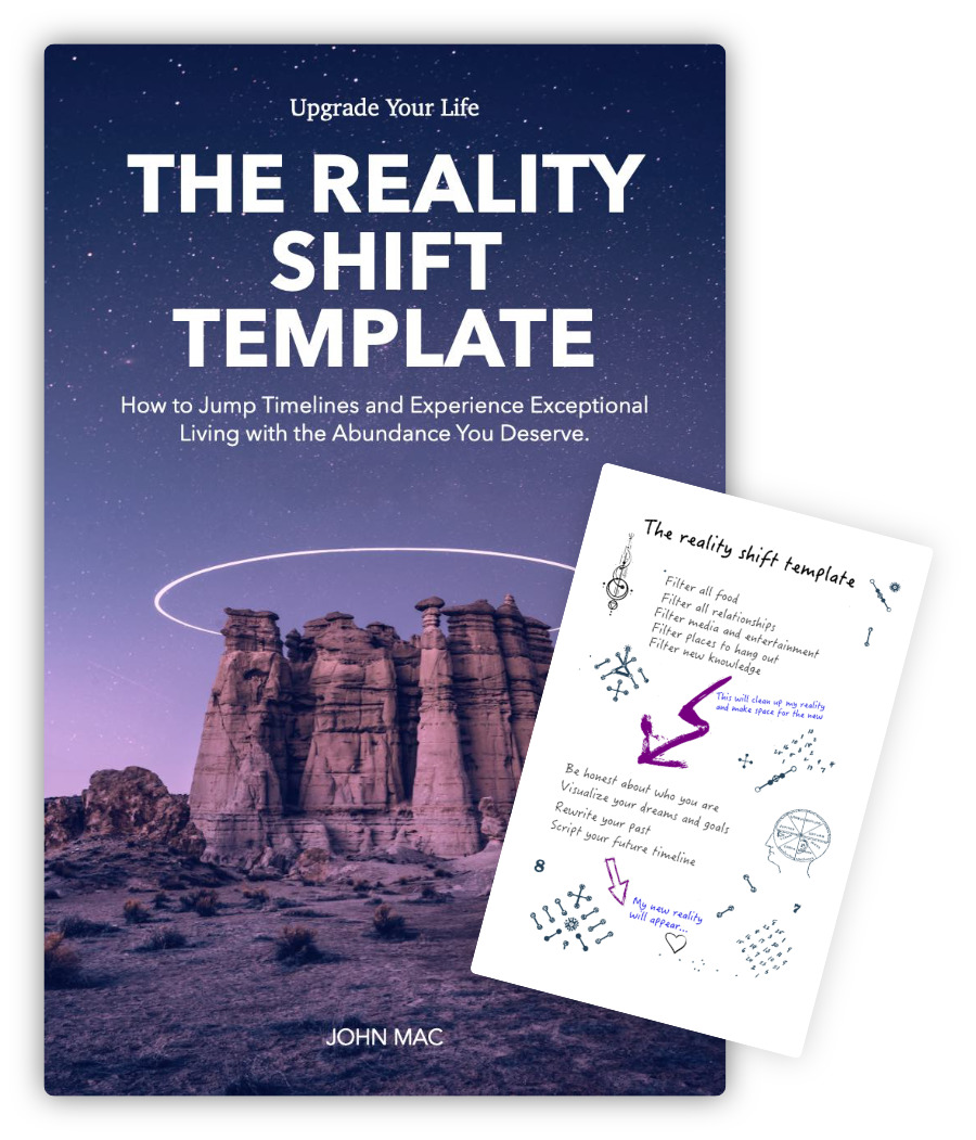 How to shift reality - free guide